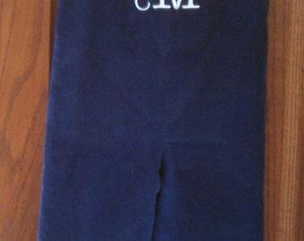 Monogrammed/Embroidered Boy's Overalls, Jon Jon Suit, Shortalls