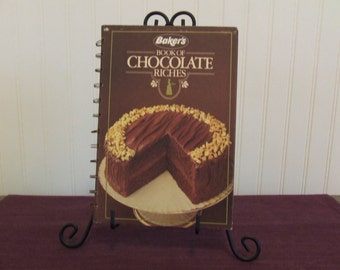 Baker's Book of Chocolate Riches, Vintage Cookbook, 1983