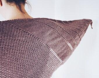 Crochet Pattern: Tunisian Crochet Triangle Shawl Schoeneberg