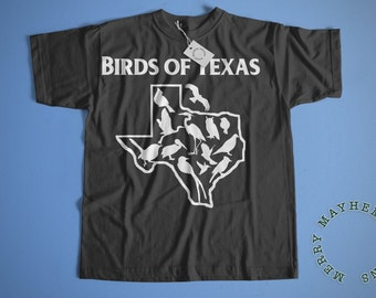 Bird T Shirt, Bird Lover Gift, Funny TShirts, Bird Shirt, Bird Watcher, Bird Art, Texas Shirt, Mens Shirts, Womens Clothing, Womens Shirt