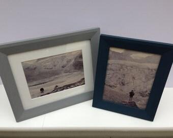 photo frame a4 11x14 10x8 10x7 9x7 8x6 7x5 6x4 5x7 6x8 7x9 7x10 8x10 10x12 14x11 inch blue frame grey frame modern frame made in uk