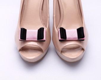 Cote d'azur Pink shoe clips