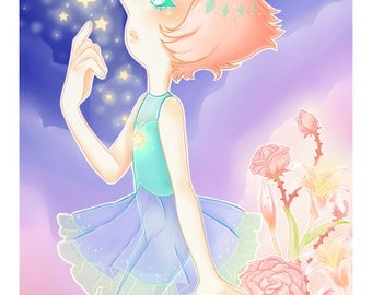 Pearl (Steven Universe) Print 4x6