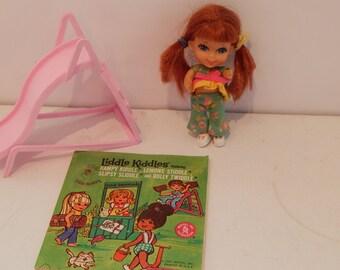 Vintage Liddle Kiddle Slipsy Sliddle 3754 Mattel 1968