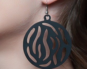 boucles d'oreille SAFARI LADYGUM, pendants, oreilles, ornement, bijoux, femme, accessoire, tattoo, safari, original, trends, earrings, mode