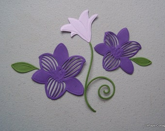 Flower die cuts