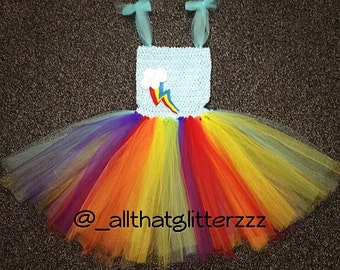 Rainbow Dash Tutu