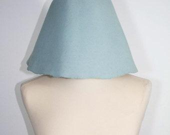 Vintage 60s collection hat // light blue egg shape hat // Audrey Hepburn style hat