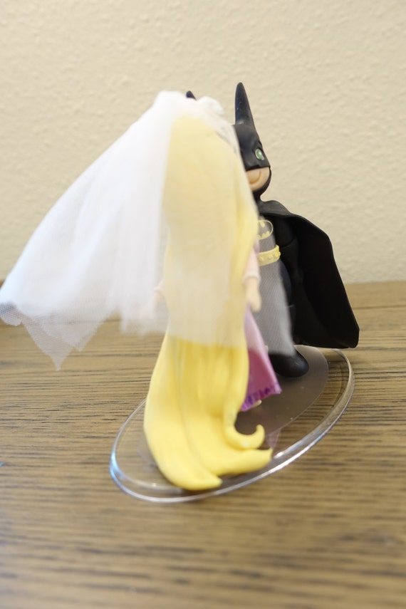 tangled wedding cake topper rapunzel and batman cake topper wedding cake topper rapunzel 20753