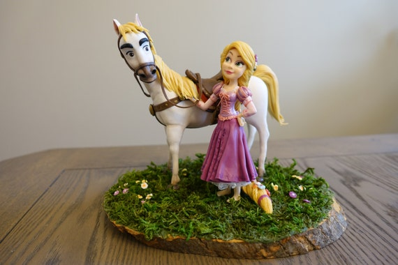 tangled wedding cake topper rapunzel and maximus cake topper tangled unique cake 20753
