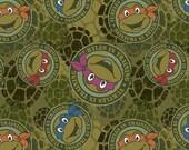 Disney Turtle Licensed Knit Fabric 1 yard