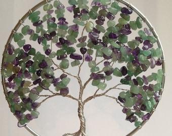 "5"" -  Lilac Sun Catcher, Wall hanging"