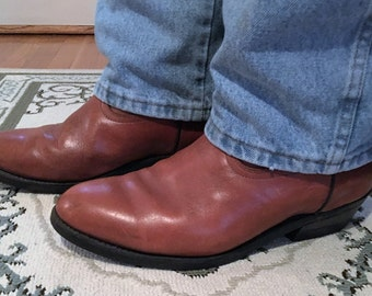 Frye Boots 1982 VIBRAM Sole Made In Marlborough MA USA
