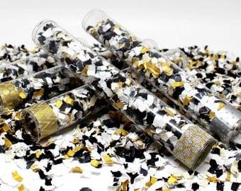Confetti Popper, New Years Decor, Party Confetti, Gift Idea, Party Favor, Glitter Party Decor, Gold Decorations, Gold Glitter Decor