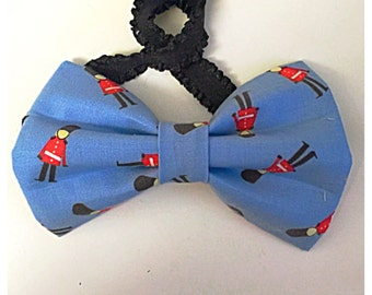 The British Are Coming Dog Bow Tie