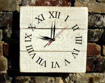 clock in rustic