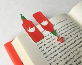 Printable Hot Sauce Bookmark