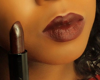 Dark Red / Dark Deep Purple Maroon Burgundy Matte Lipstick