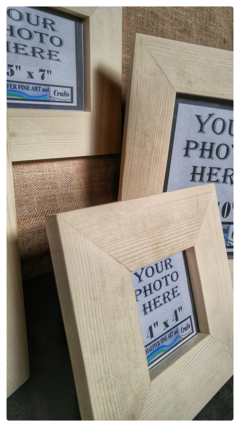 Unfinished wood picture frames craft -  Unfinished Wood Frames Wood Crafts Supplies Diy Wood Frames Sold By Swproducts