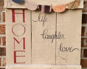 HOME life laughter love