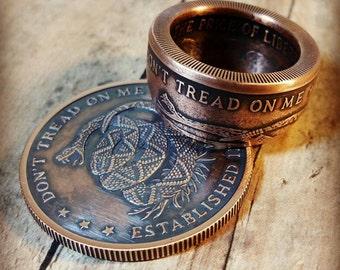 Molon Labe Come And Take Them 1oz 999 Solid Copper Coin