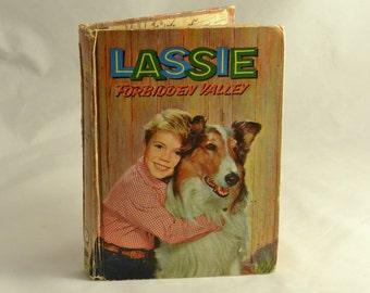 Childrens Book - Lassie - Forbidden Valley -1959  with Illustrations