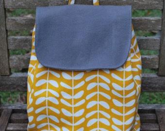 Organic Backpack Handbag, for Adults or Kids!