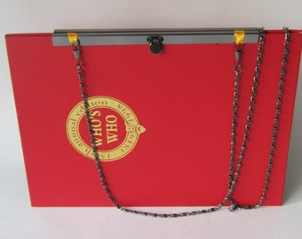 Handbags made from books: Who's Who 1998