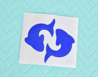 Pisces Zodiac Sign Astrology Horoscope Car Laptop Vinyl Decal Sticker