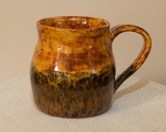 Wheel thrown Ceramic Mug