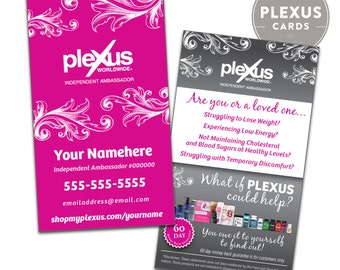 Plexus Business Card Design [PRINTED & SHIPPED]