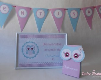 Printable Kit OWL