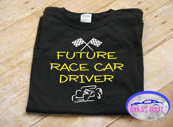 Future race car driver youth unisex t shirt clothing for Race car driver t shirts