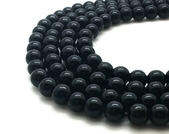 8mm Mashan Jade Beads Black Round 8mm Mashan Jade 8mm Black Jade 8mm Jade Black Beads 8mm Candy Jade 8mm Black Beads 8mm Mountain Jade