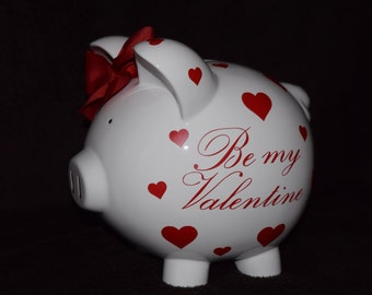Holiday Piggy Bank - Personalized