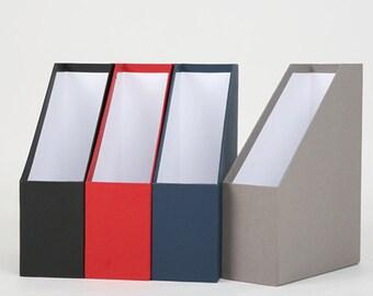 Desk organizer set etsy - Paper organizer for desk ...