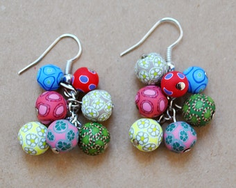 Bunch of grapes / earrings