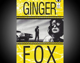 Ginger Fox #1 1988 Comico