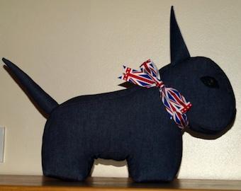 English Bull Terrier Doorstop