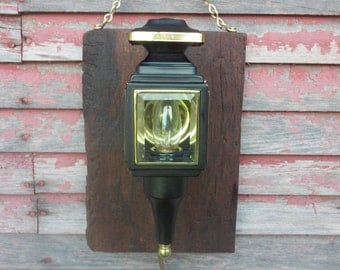 Vintage OOAK Re Purposed. Porch Light Unique Lighting Decrotive LIghting Old Lighting Home Decor Wall Lighting American Made Lighting