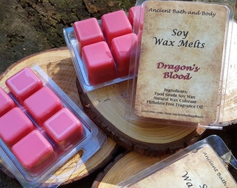 Dragon's Blood Soy Wax Melt / Soy Wax Tart