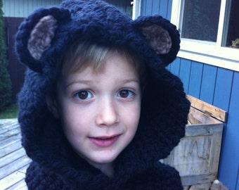 Cozy Bear Hoods