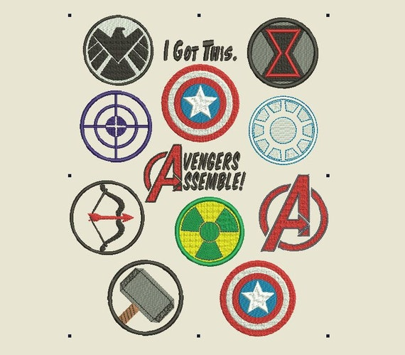 Black widow marvel avengers symbol - photo#18