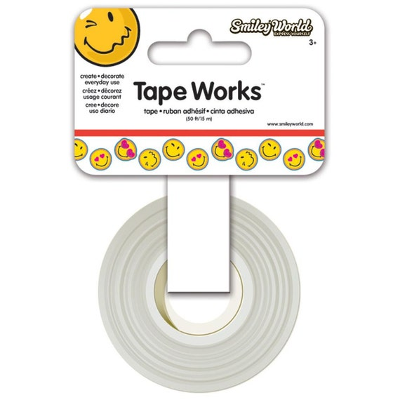 items similar to tape works smiley face washi tape smiley