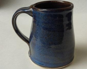 Mixed Stoneware Hare's Ear Blue Glaze
