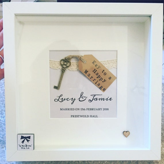 Perfect Personalised Wedding Gift For The Happy Couple Great