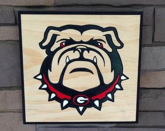 Georgia Bulldog Sign
