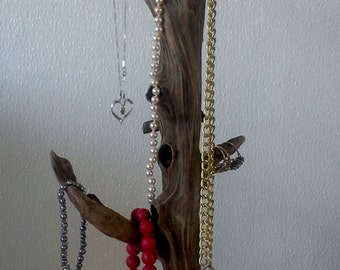 SOLD!   Jewelry Tree, Driftwood on Granite Base
