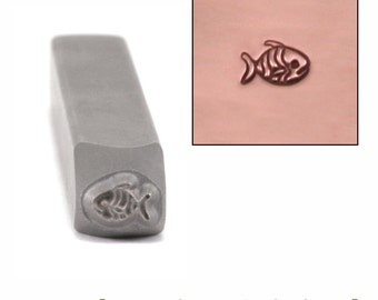 Metal Stamp Tropical Fish (DS392)