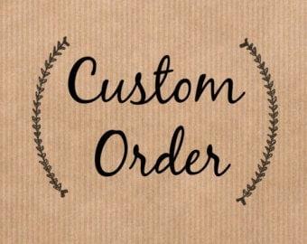 Custom 8x11 String Art